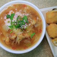 彰化縣美食 餐廳 中式料理 小吃 北斗黃深海深土魠魚羹 照片