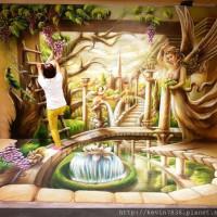 台中市休閒旅遊 景點 展覽館 台中新光三越圖龍3D幻視藝術展 照片