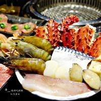 台北市美食 餐廳 餐廳燒烤 燒肉 帝一 帝王蟹海鮮/黑毛牛/伊比利豬 頂級燒烤吃到飽 照片