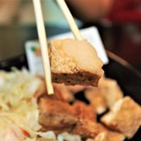 吃。台南 二十年聞臭好味道臭豆腐/麻辣豆腐/豆腐煲「台南天香臭豆腐」。