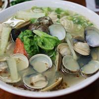 桃園市美食 餐廳 中式料理 麵食點心 蛤仔拉麵 照片