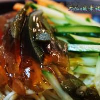 高雄市美食 攤販 台式小吃 辛酸涼麵 麻辣鴨血 照片