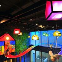 新竹市休閒旅遊 景點 展覽館 幾米夢幻世界(晶品城購物廣場-幾米廣場) 照片
