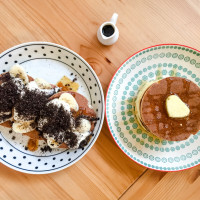 花蓮縣美食 餐廳 烘焙 蛋糕西點 胡士托Woodstock pancake 照片