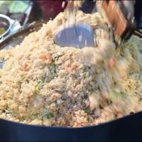 新北市美食 攤販 台式小吃 新莊嘉義炒飯蚵仔煎 照片