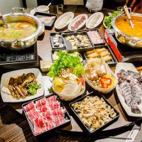 台北市美食 餐廳 火鍋 麻辣鍋 佛山御宴雞煲蟹 照片