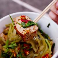 台中市美食 餐廳 中式料理 小吃 白冷客家滷豆干 照片