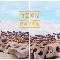 桃園市休閒旅遊 景點 觀光魚場 桃園竹圍漁港 照片