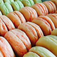 彰化縣美食 攤販 台式小吃 彰化台式馬卡龍 照片