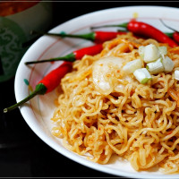 南投縣美食 攤販 台式小吃 辛風泡菜 照片