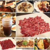 台南市美食 餐廳 火鍋 麻辣鍋 極牛溫體牛肉火鍋 照片
