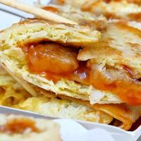 桃園市美食 餐廳 中式料理 中式早餐、宵夜 中壢蔬菜蛋餅專賣店 照片