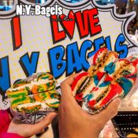台北市美食 餐廳 烘焙 烘焙其他 N.Y. Bagels 紐約貝果-彩虹貝果台北京站快閃店 照片