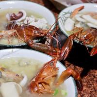 台南市美食 攤販 台式小吃 捌柒海產粥 照片