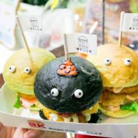 台中市美食 攤販 異國小吃 Burger Kids X 漢堡三兄弟 照片