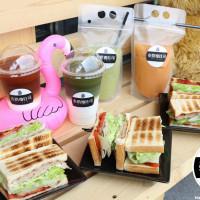 台南市美食 餐廳 飲料、甜品 泰奶yo吐司 照片