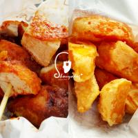 台北市美食 餐廳 中式料理 小吃 五分埔廟街脆皮大雞排 照片