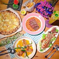 台中市美食 餐廳 異國料理 義式料理 默爾 pasta pizza 照片