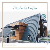 嘉義縣美食 餐廳 咖啡、茶  嘉義民雄星巴克 歐式教堂建築風格 得來速服務 彷彿有如置身於國外的感覺  照片