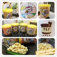 台南市美食 攤販 異國小吃 爆爆超人手工美式蘑菇爆米花 照片