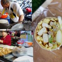 台南市美食 餐廳 中式料理 台菜 崇德市場 春捲 照片