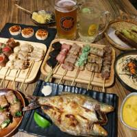 新北市美食 餐廳 餐廳燒烤 串燒 宅丁亭-迴轉串燒‧現釀啤酒 照片