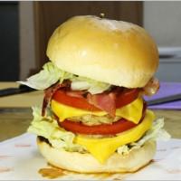 桃園市美食 餐廳 異國料理 美式料理 鬼島漢堡 照片