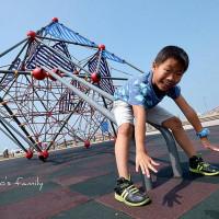 桃園市休閒旅遊 景點 公園 竹圍漁港公共兒童遊戲場 照片