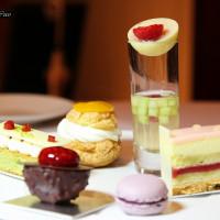 台北君悅酒店MOF客座餐敘/與M.O.F.甜點名廚新推出的聯名蛋糕和芒果甜點(捷運市政府/101世貿站)