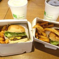 台北市美食 餐廳 速食 樂檸漢堡( 台北 · 北車誠品門市 ) 照片