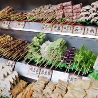 台北市 美食 評鑑 攤販 攤販燒烤 焦糖楓 日式無烟撒粉串燒(師大店)