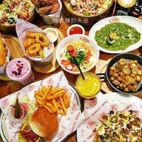 台中市美食 餐廳 異國料理 美式料理 CAMPUS CAFE 照片
