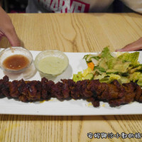 安妮與沙小郭在Arabian Nights中東創意BBQ料理 pic_id=4736086