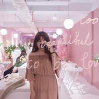 | Taiwan Taichung 台灣 台中 西區 ☻ Rosé club | 台中IG熱門打卡點 . 超韓系質感咖啡廳 . 夢幻粉色香檳色裝潢 . 連食物都pink粉嫩的太超過