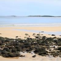 【澎湖‧西嶼】內垵沙灘‧台版馬爾地夫眺望一覽無遺海岸線,澎湖最美的細沙海岸沙灘