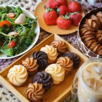 台中市美食 餐廳 烘焙 蛋糕西點 短腿阿鹿餅乾漢口店 照片