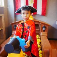 黃埔75旅店 ▏孩子我把海盜船球池搬進房間 盡情玩到瘋掉都沒關係。輕工業風設計的文創旅店。台中親子住宿