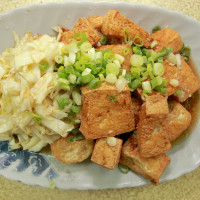 台南市美食 餐廳 中式料理 台南土地公臭豆腐 照片