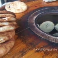 彰化縣美食 攤販 台式小吃 大桶火炭餅 照片