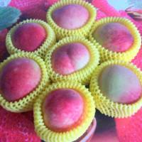 桃園市美食 攤販 水果 拉拉山媽媽桃 照片