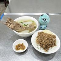 台北市美食 攤販 台式小吃 無名排骨湯 照片