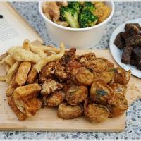 台中市美食 餐廳 中式料理 小吃 銓仔炸雞 照片