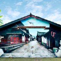 嘉義縣休閒旅遊 景點 景點其他 菁埔彩繪村/貓咪彩繪村 照片