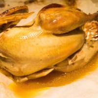 新北市美食 餐廳 異國料理 南洋料理 阿柑鹽焗柑榜雞 照片