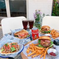 高雄市美食 餐廳 異國料理 韓式料理 麥樂漢堡Mellow 照片