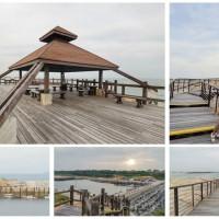 金門縣休閒旅遊 景點 海邊港口 復國墩觀景台 照片