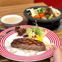 台中市美食 餐廳 餐廳燒烤 燒肉 紅火明爐炭烤牛排 照片