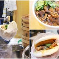 桃園市美食 攤販 麵線 桃姐大腸麵線 手工刈包 照片