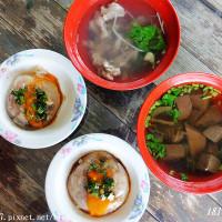 苗栗縣美食 攤販 台式小吃 隨意客家肉圓 照片
