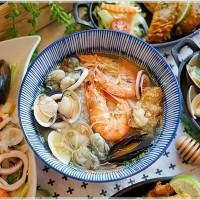 台中市美食 餐廳 中式料理 小吃 暖心食堂海鮮粥麵 照片